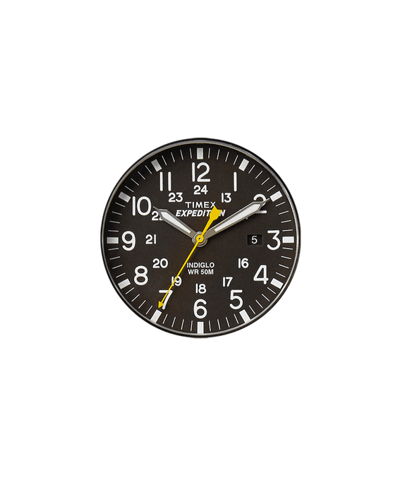 Black Dial / Yellow Second Hand  large