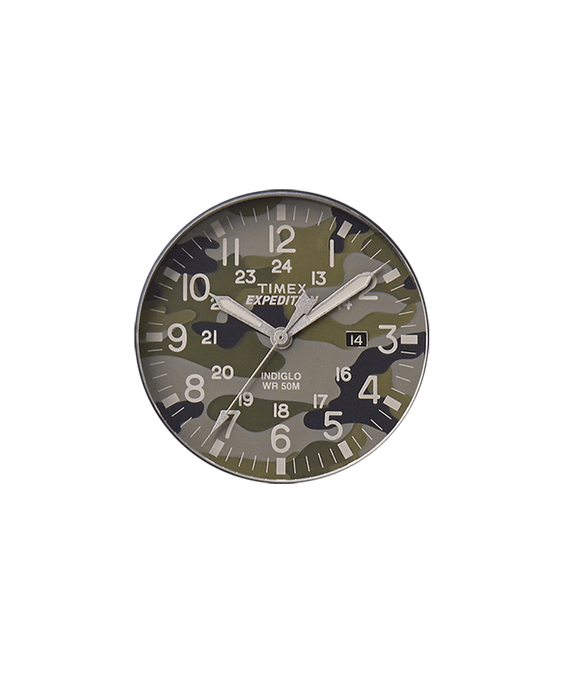 Green Camo Dial / Gray Second Hand  large