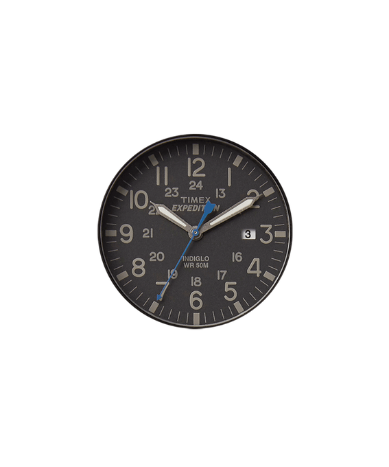 Black Dial / Blue Second Hand  large