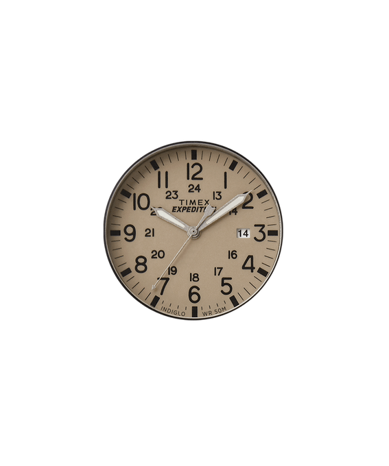 Tan Dial / Gray Second Hand  large