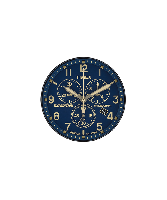 Blue Dial / Cream Second Hand  large