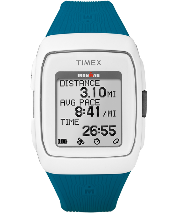 TIMEX IRONMAN GPS - White/Teal  large