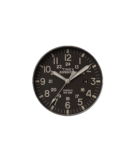 Black Dial / Gray Second Hand  large