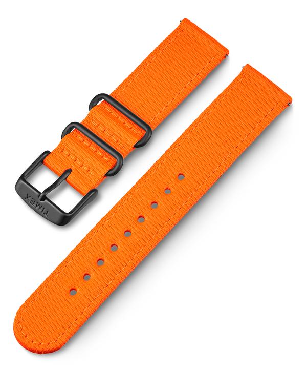 20mm Quick Release Fabric Strap Orange large