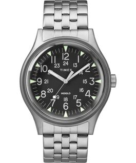 MK1 40mm Stainless Steel Watch Stainless-Steel/Black large