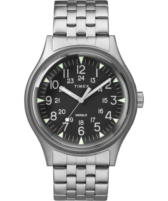MK1 40mm Stainless Steel Watch Stainless-Steel/Black (large)