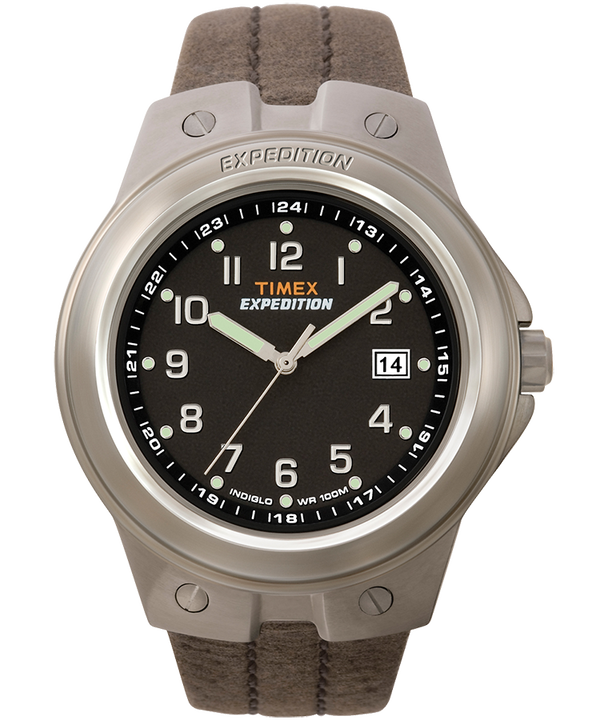 Expedition Metal Tech 40mm Leather Watch  large