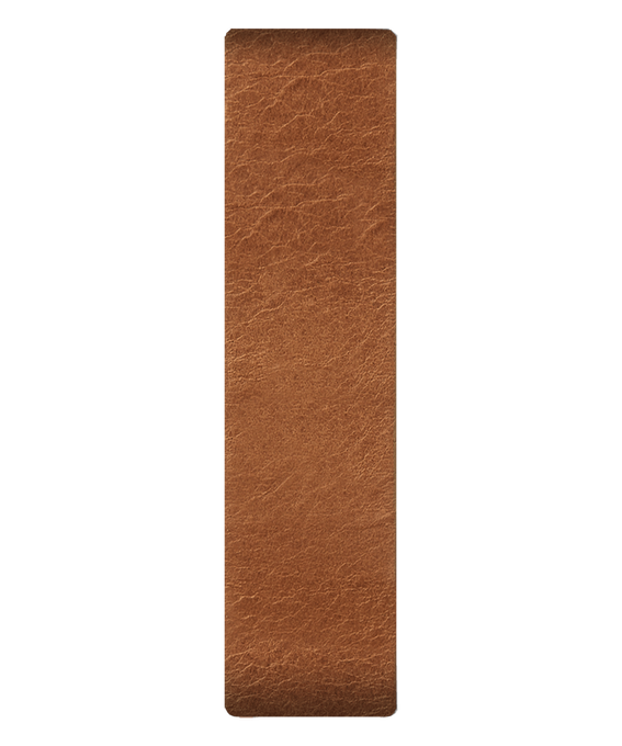 Tan Leather Slip-thru Strap  large