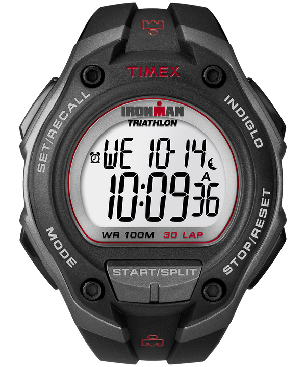 IRONMAN Classic 30 Oversized Resin Strap Watch Gray/Black large