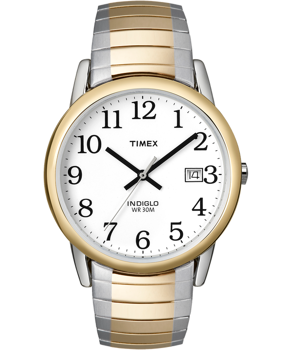 Easy Reader 35mm Expansion Band Watch Two-Tone/White large