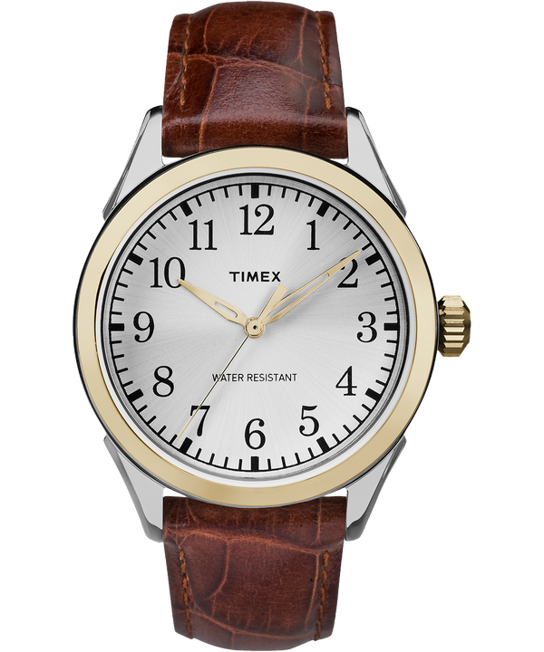 Briarwood Terrace 40mm Leather Watch  large