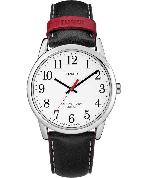 Easy Reader 40th Anniversary 38mm Leather Watch  large