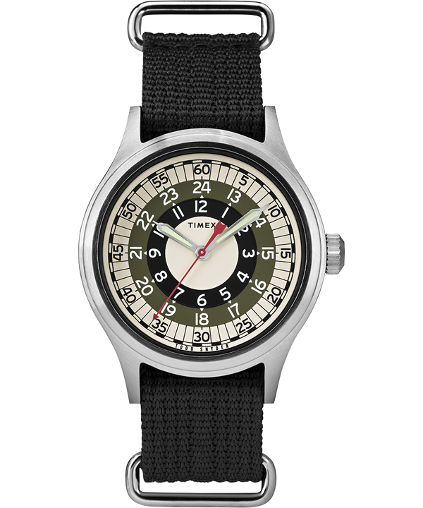 Timex x Todd Snyder MOD Inspired 40mm Fabric Strap Watch  large