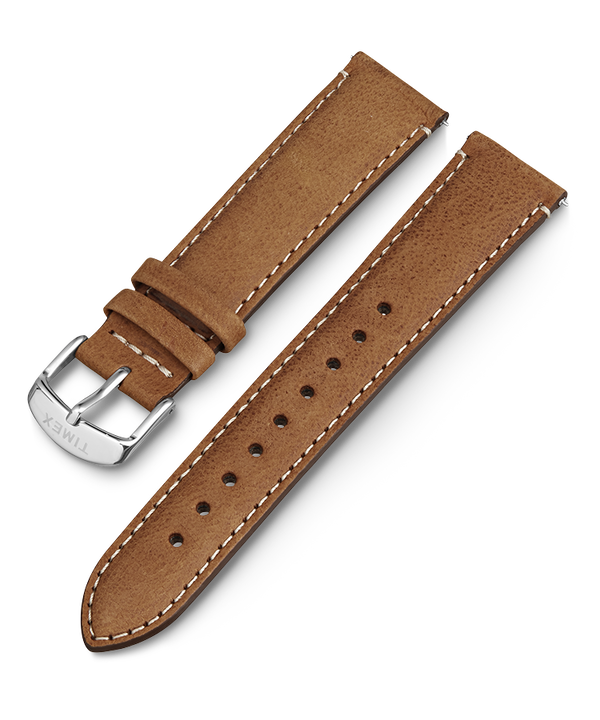 20mm iQ Light Brown Leather Strap  (large)