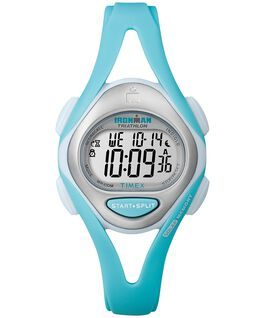 IRONMAN Sleek 50 Mid-Size 33mm Resin Strap Watch Green/Blue/Gray large