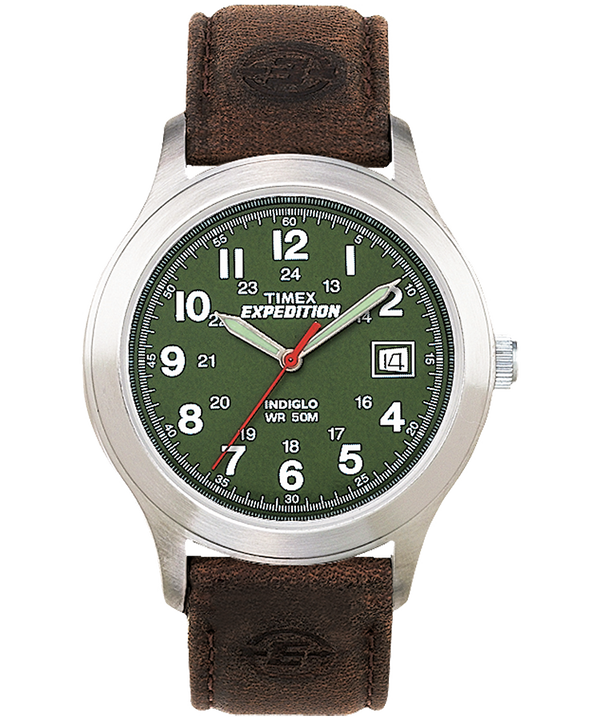 Expedition Metal Field 39mm Leather Watch  (large)