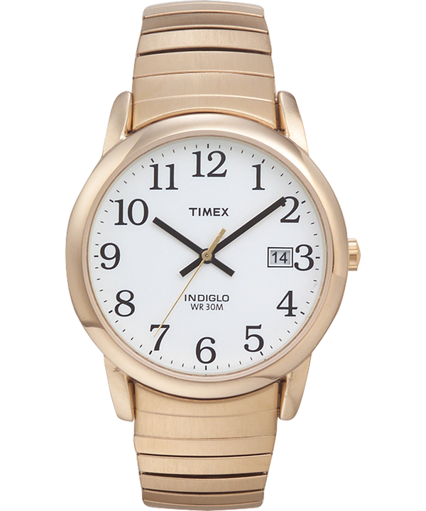 Easy Reader 35mm Expansion Band Watch Gold-Tone/White large