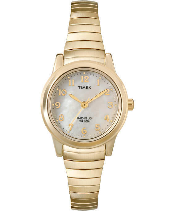 Easy Reader 25mm with Date Stainless Steel Watch Gold-Tone/Mother-of-Pearl (large)