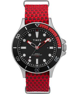 Allied Coastline 43mm Fabric Strap watch