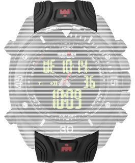 Replacement 24mm Resin Strap for Ironman Classic Dual Tech Black large