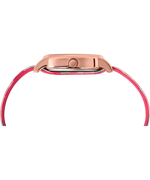 Weekender 31mm Floral Fabric Strap Watch Rose-Gold-Tone/Pink/Cream large