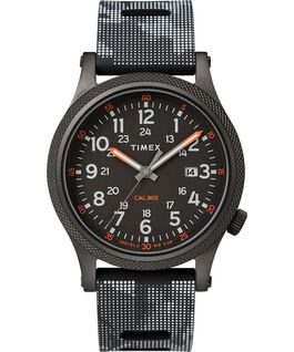 Allied LT 40mm Silicone Strap Watch Black large
