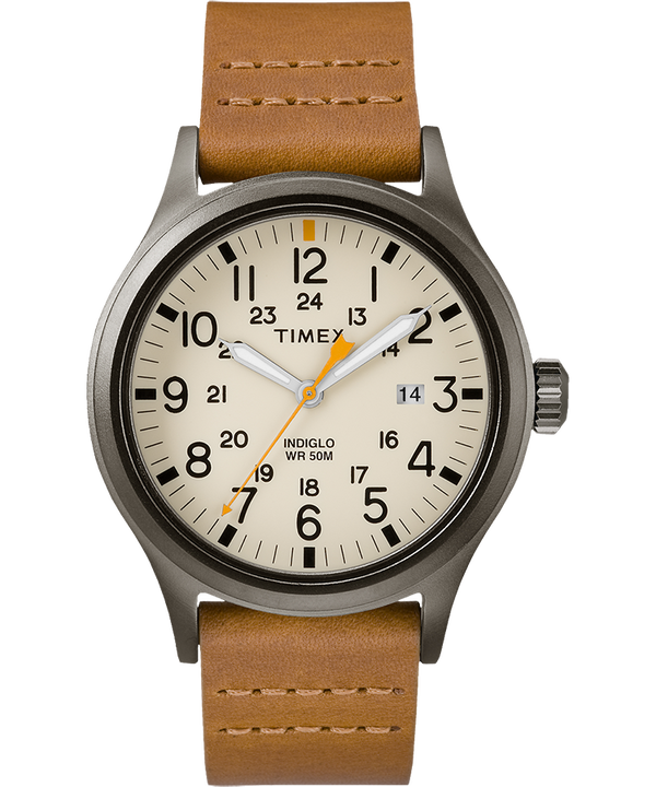 Allied 40mm Leather Watch  (large)