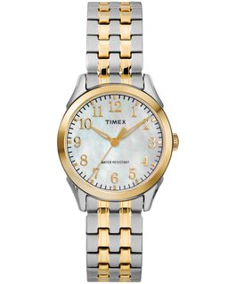 Briarwood Mother of Pearl 27mm Stainless Steel Watch Two-Tone/Mother-of-Pearl large