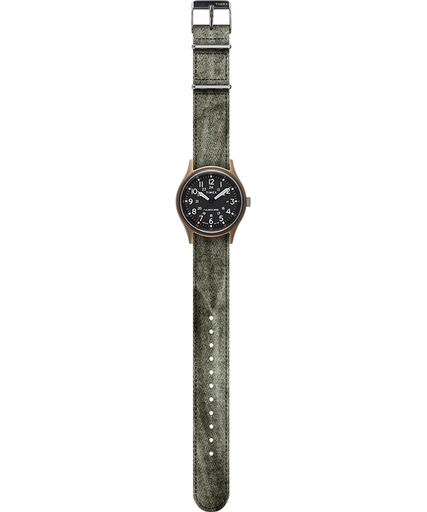 MK1 40mm Fabric Strap Watch Green large