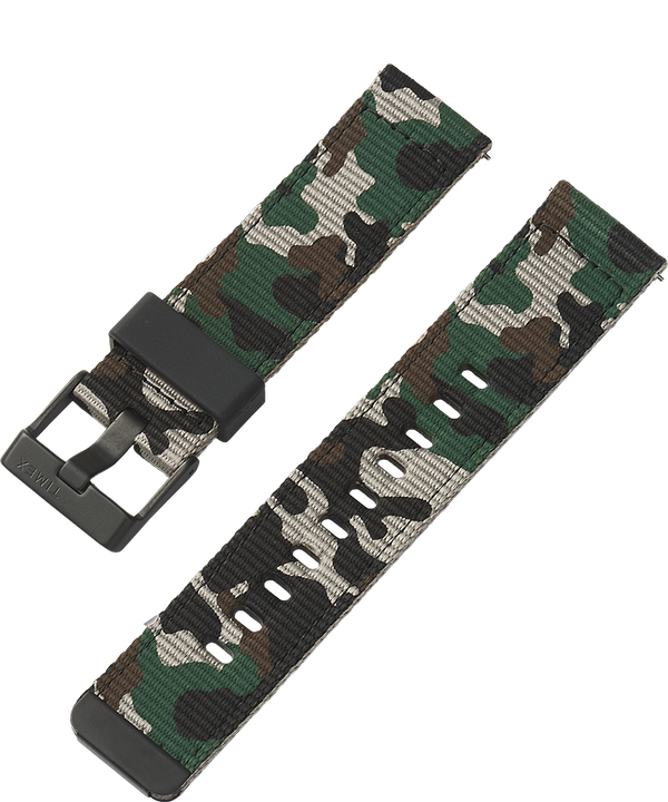 22mm Quick-Release Fabric Strap Camo large