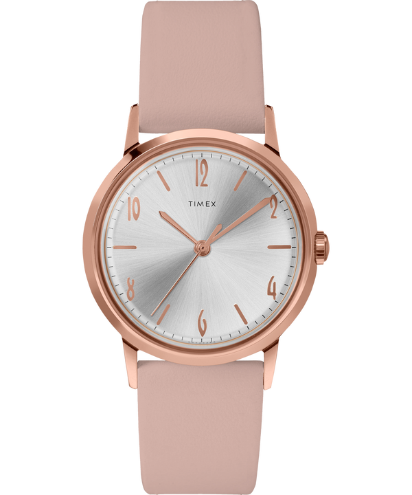 Marlin Ladies 34mm Hand-Wound Leather Strap Watch  large