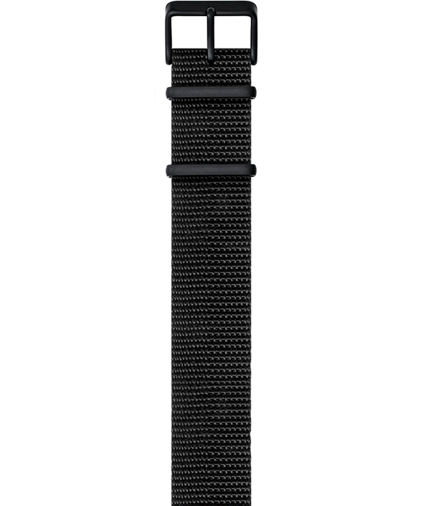 Military-Inspired Weave Strap Black large