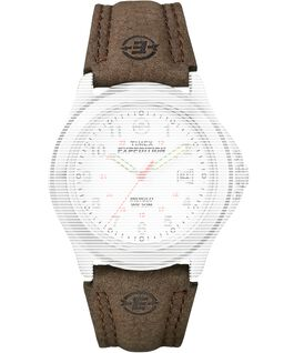 101bf23be Replacement 20mm Leather Strap for Expedition Metal Field Brown large