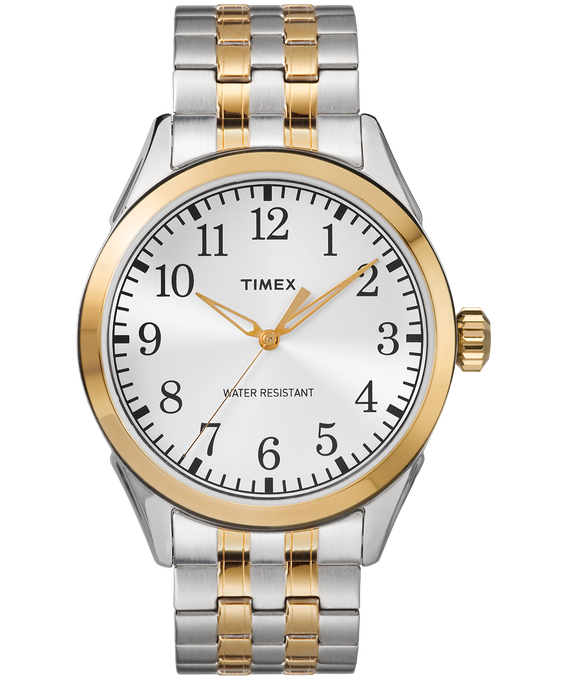 Briarwood 40mm Stainless Steel Watch Two-Tone/Silver-Tone large