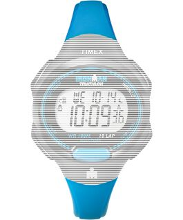 Replacement 12mm Resin Strap for Ironman Essential 10 Mid-Size Blue large
