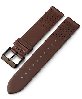 20mm Quick Release Leather Strap with Perforations 1 Brown large