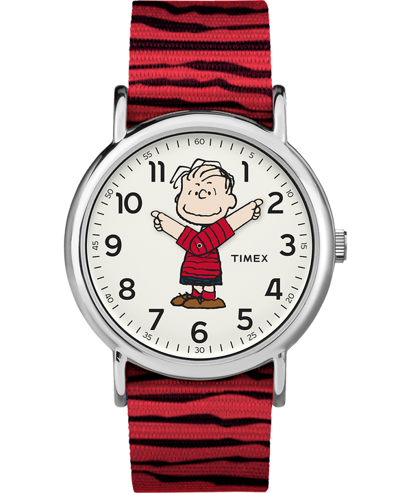 Linus 38mm Nylon Strap Watch  large