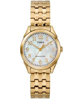 Briarwood Mother of Pearl 27mm Stainless Steel Watch Gold-Tone/Mother-of-Pearl large