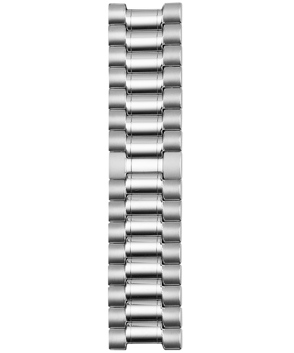 18mm Stainless Steel Expansion Bracelet Silver-Tone large