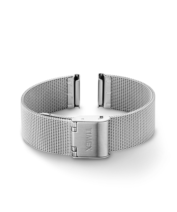 16mm Mesh Band Silver-Tone large