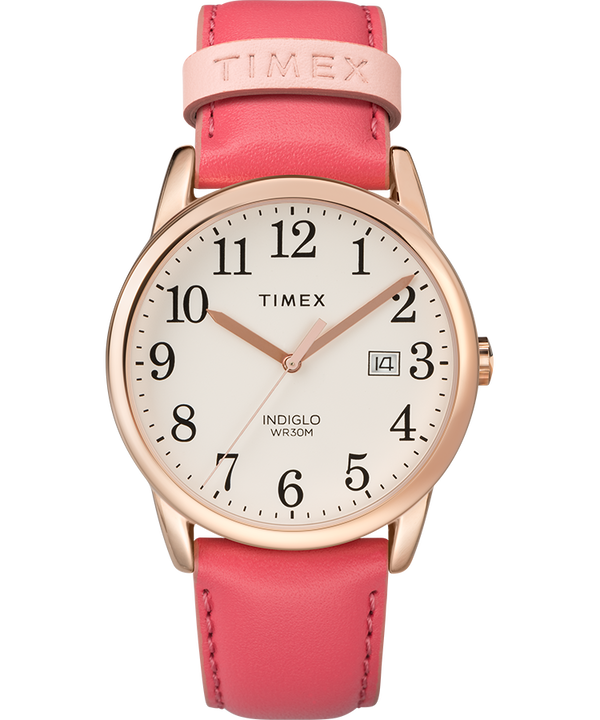 Easy Reader 38mm Leather Watch Womens  (large)