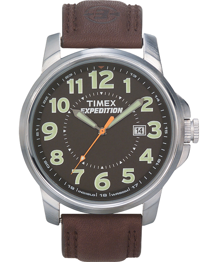 expedition metal field metal 40mm leather watch timex us rh timex com Timex Indiglo Camouflage Military Style Timex Watches