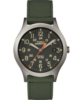 Expedition Scout 36mm Fabric Strap Watch Green large