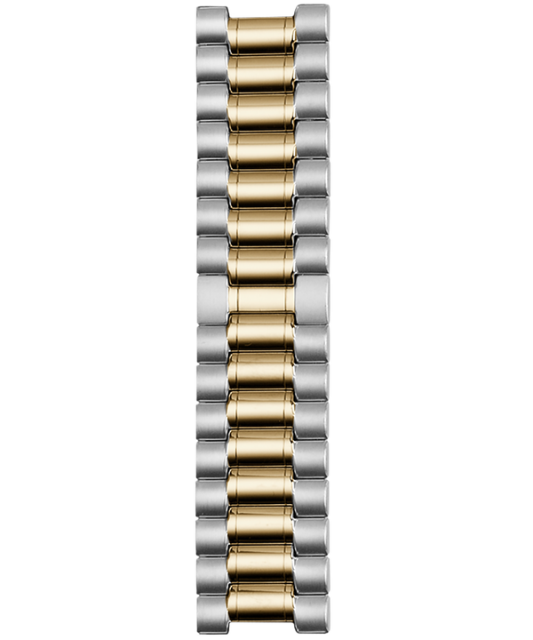 18mm Two Tone Stainless Steel Strap  (large)