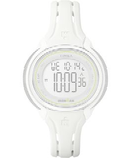 Replacement 13mm Silicone Strap for Ironman Sleek 50 Mid-Size White large