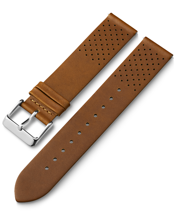 22mm Quick Release Silicone Strap Tan large