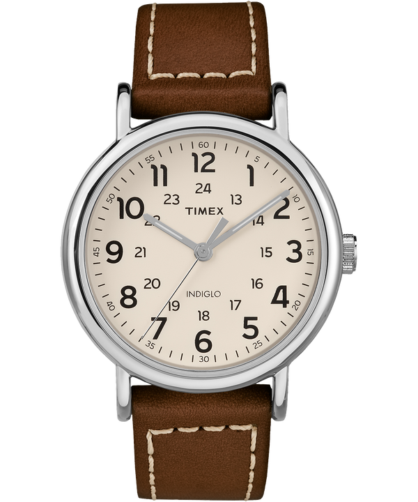 Weekender 2 Piece 40mm Leather Watch  (large)