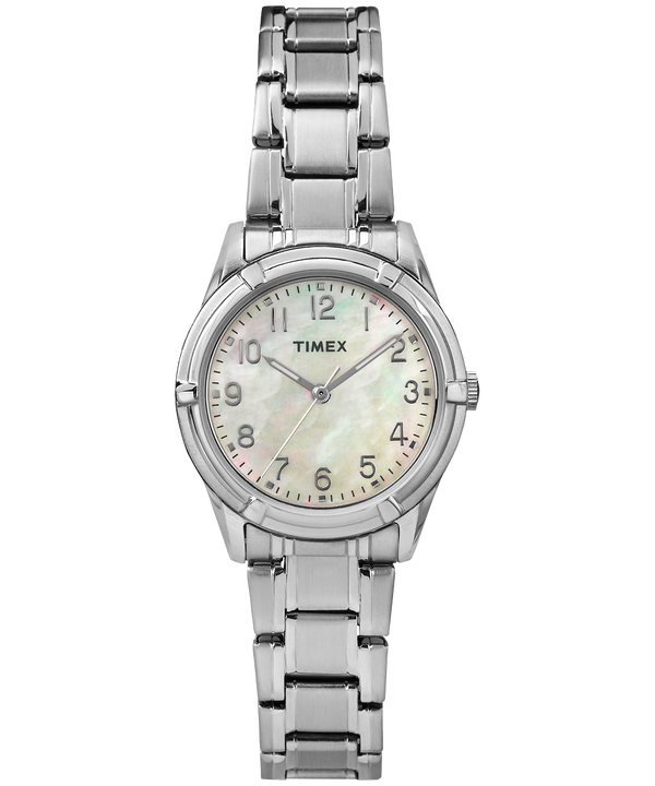 Easton Avenue Mother of Pearl 27mm Bracelet Watch Silver-Tone/Mother-of-Pearl large