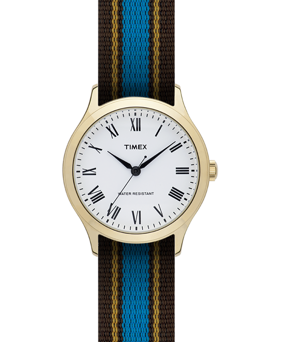 Whitney Avenue 36mm Grosgrain Strap Watch