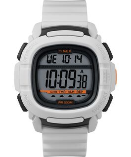 BST.47 47mm Silicone Strap Watch White/Silver-Tone large